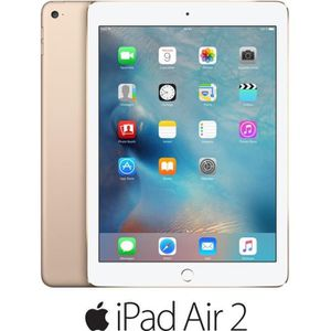 TABLETTE TACTILE Apple iPad Air 2 Wi-Fi 64Go Or