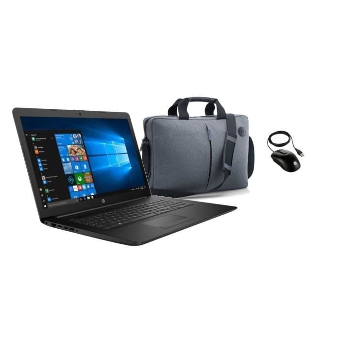 "ORDINATEUR PORTABLE HP PC Portable - 17,3""HD+ - Celeron N4000 - RAM 8G"