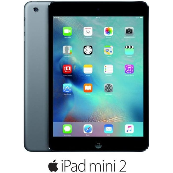 apple ipad mini 2 wi fi 32go wi fi gris sid ral prix pas cher cdiscount. Black Bedroom Furniture Sets. Home Design Ideas