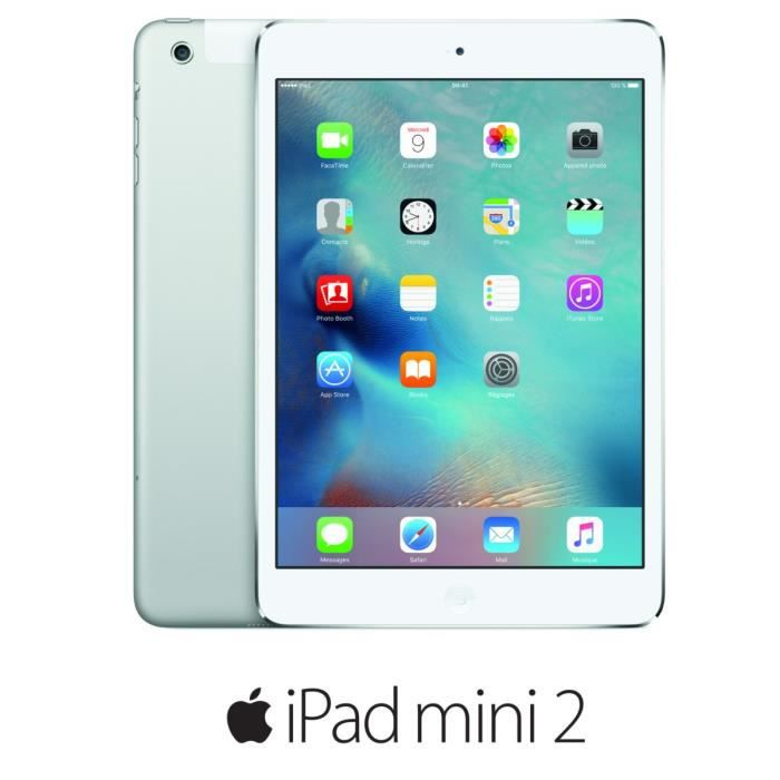 apple ipad mini 2 wi fi cellular 32go argent prix pas cher cdiscount. Black Bedroom Furniture Sets. Home Design Ideas
