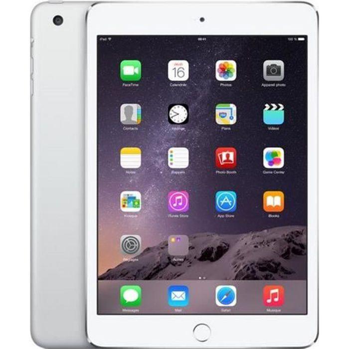 TABLETTE TACTILE Apple iPad mini 3 Wi-Fi 64Go Argent