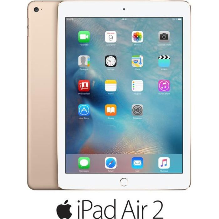TABLETTE TACTILE Apple iPad Air 2 Wi-Fi 128Go Or