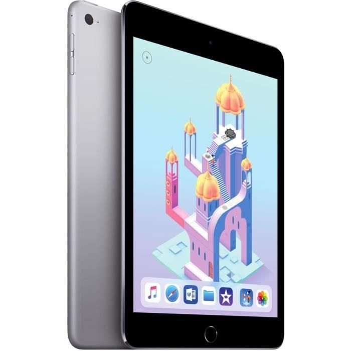 "TABLETTE TACTILE iPad mini 4 - 7,9"" 128Go - WiFi - Gris sidéral"