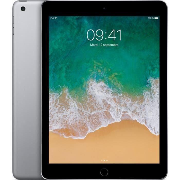 """TABLETTE TACTILE iPad 9,7"""" Retina 32Go WiFi - Gris Sidéral - 5ème G"""