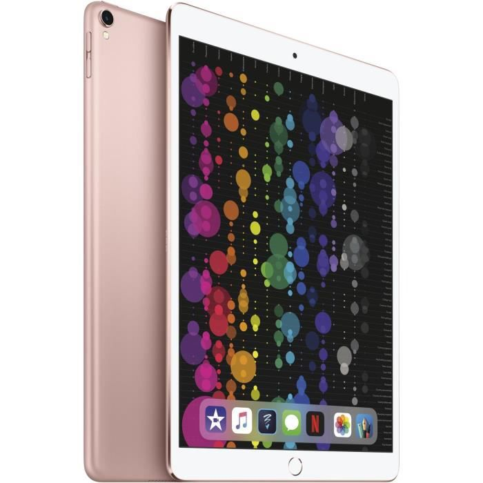 TABLETTE TACTILE iPad Pro 10,5'' 512Go WiFi + Cellular - Rose Gold