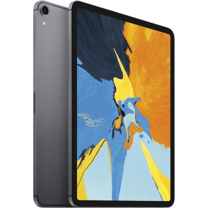 """TABLETTE TACTILE APPLE iPad Pro 11"""" Retina 256Go WiFi + Cellular -"""