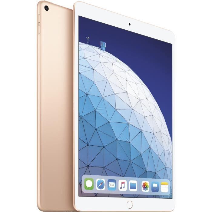"""TABLETTE TACTILE iPad Air - 10,5"""" Rétina 256Go WiFi - Or"""
