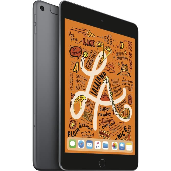 "TABLETTE TACTILE iPad mini - 7,9"" 64Go WiFi + Cellular - Gris Sidér"