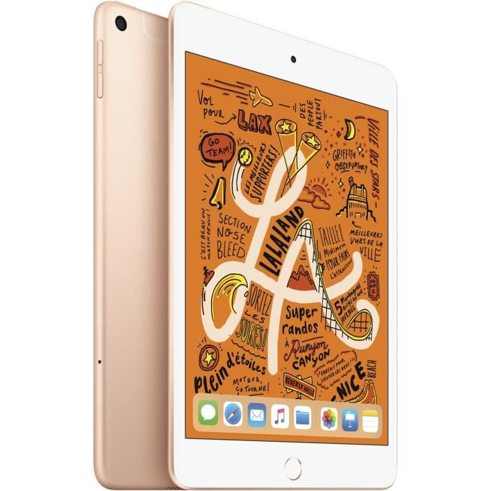 "TABLETTE TACTILE iPad mini - 7,9"" 64Go WiFi + Cellular - Or"