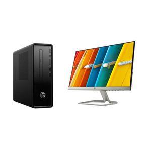 UNITÉ CENTRALE  HP PC de Bureau Slimline 290-a0000nfm - AMD A4-912