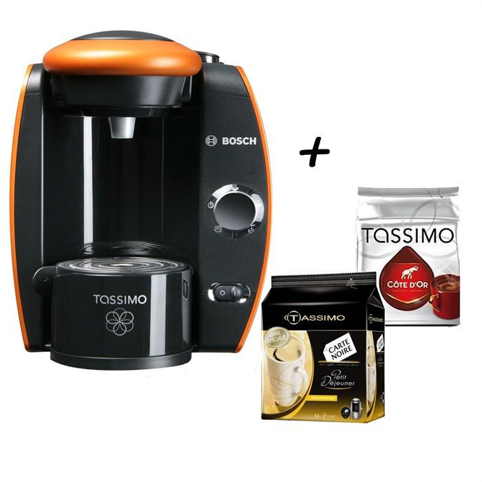 pack tassimo machine expresso dosettes achat vente. Black Bedroom Furniture Sets. Home Design Ideas