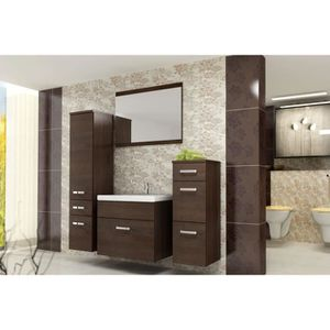 trendy salle de bain complete bali ensemble salle de bain simple vasque l cm combien coute with. Black Bedroom Furniture Sets. Home Design Ideas
