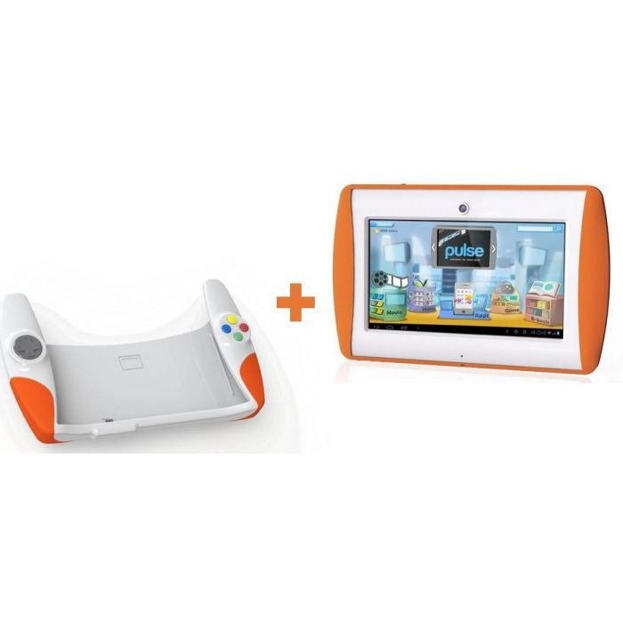 meep tablette orange manette de jeu achat vente console ducative meep tablette orange. Black Bedroom Furniture Sets. Home Design Ideas