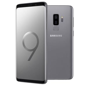 SMARTPHONE Samsung Galaxy S9+ Gris Titane - 256 Go - Double S