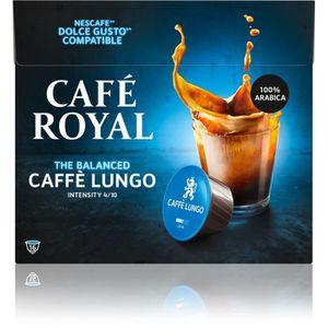CAFÉ CAPSULE Café royal dolce gusto Lungo Capsules compatibles