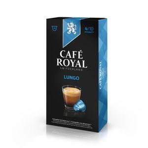 CAFÉ 10 capsules Cafe Royal Lungo Capsules compatibles