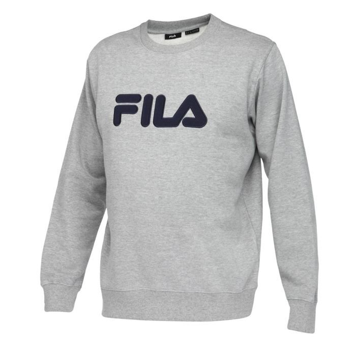 fila sweat homme gris achat vente sweatshirt cdiscount. Black Bedroom Furniture Sets. Home Design Ideas