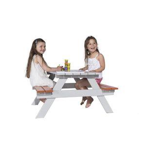BALANÇOIRE - PORTIQUE TRIGANO Table Picnic Enfant