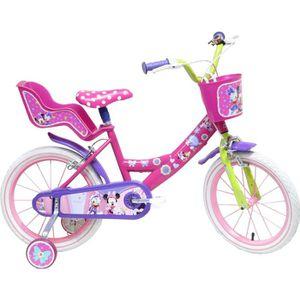 VÉLO ENFANT MINNIE Vélo 4/7 ans 16'' Enfant