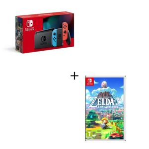 CONSOLE NINTENDO SWITCH Pack Nintendo Switch Neon + Jeu Switch The Legend
