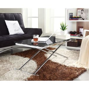 TABLE BASSE UP & DOWN Table basse noire