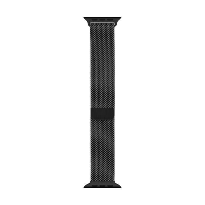 BRACELET MONTRE CONNEC. Bracelet Milanais noirsidéral 44mm