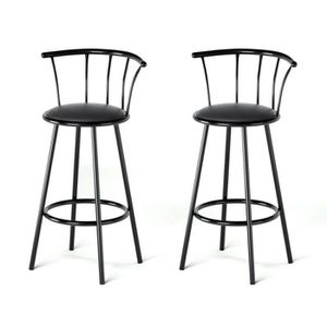 tabouret de bar 63 cm achat vente tabouret de bar 63 cm pas cher cdiscount. Black Bedroom Furniture Sets. Home Design Ideas