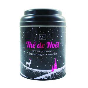 THÉ MAISON TAILLEFER Thé Noir de Noël Boite Métal 100g