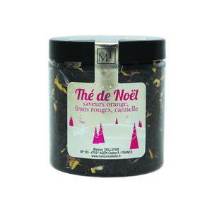 THÉ MAISON TAILLEFER Thé Noir de Noël Pot 60g