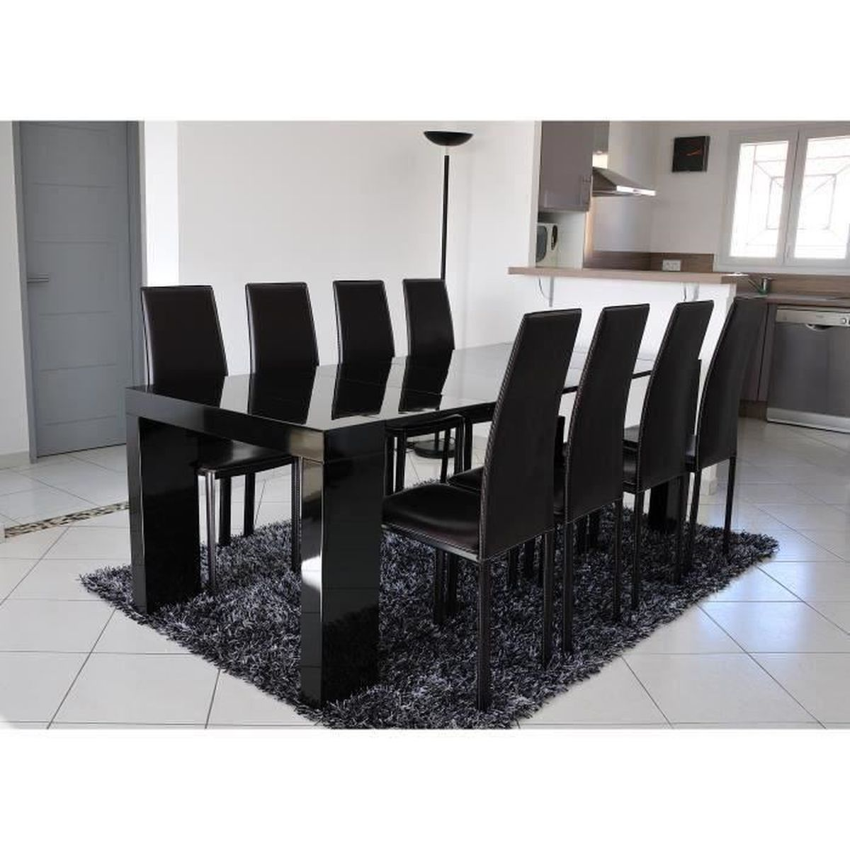 Table console extensible wenge - Achat / Vente Table console ...