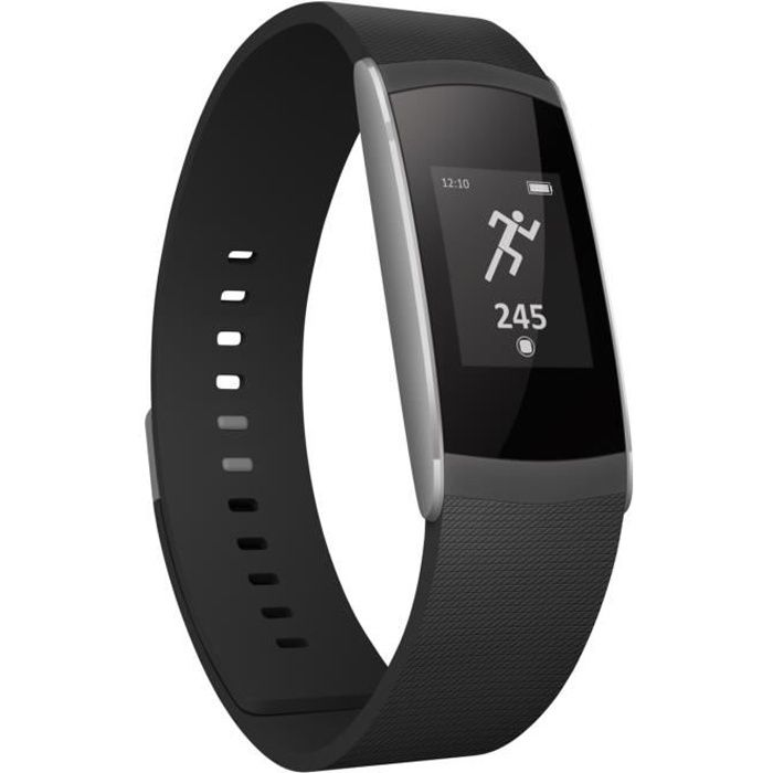wiko wimate tracker d 39 activit noir achat bracelet. Black Bedroom Furniture Sets. Home Design Ideas