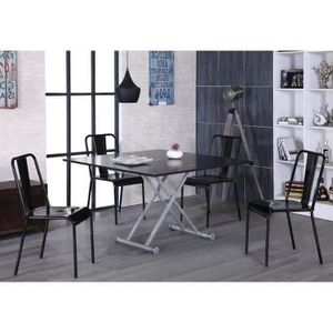 Table extensible achat vente table extensible pas cher for Table basse manger transformable
