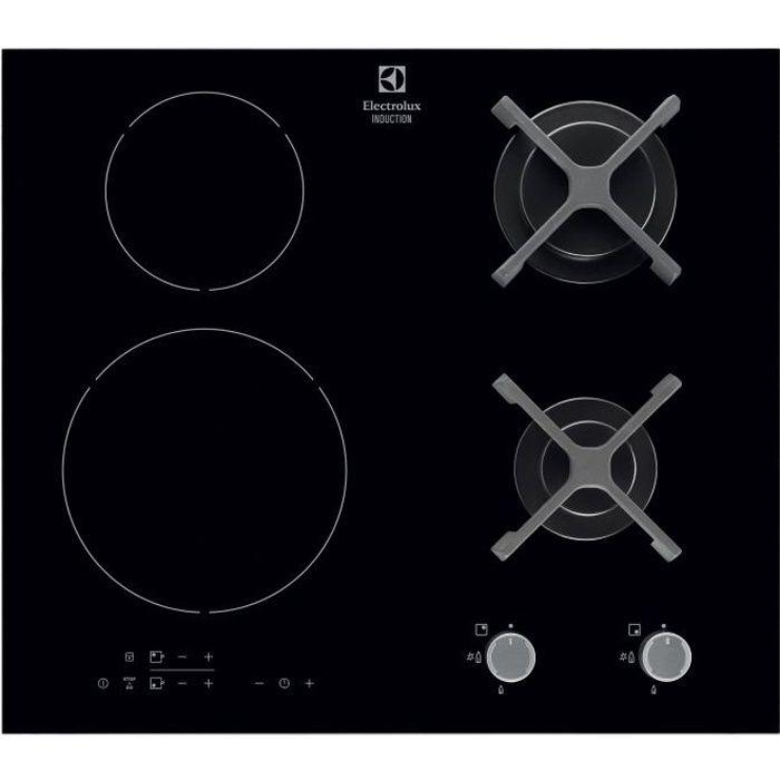 PLAQUE MIXTE ELECTROLUX EGD6576NOK - Table de cuisson mixte gaz