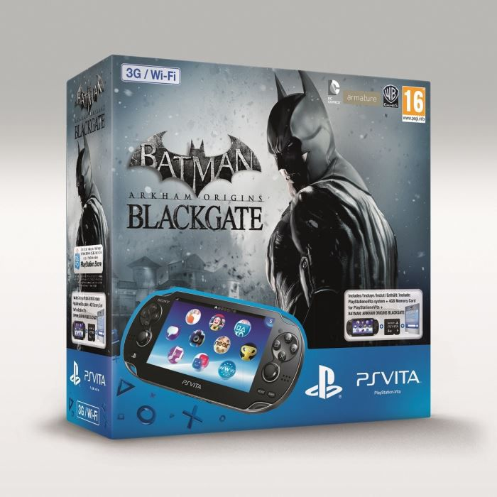 console ps vita batman carte memoire 8 go achat vente console ps vita ps vita batman. Black Bedroom Furniture Sets. Home Design Ideas