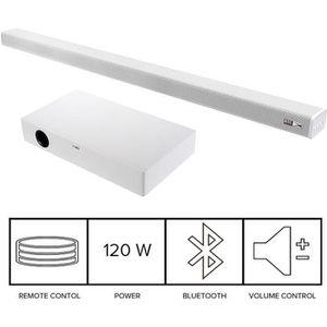 BARRE DE SON ALTEC Barre de son Bluetooth - 120 W - Blanc