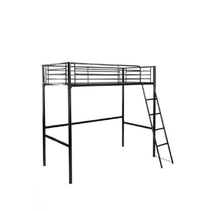 lit mezzanine 1 personne pas cher my blog. Black Bedroom Furniture Sets. Home Design Ideas