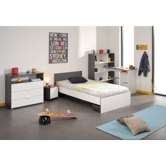 chambre enfant compl te lit chevet bureau commode achat vente chambre compl te stanley. Black Bedroom Furniture Sets. Home Design Ideas