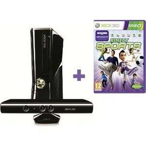 CONSOLE XBOX 360 X360 250 Go Kinect + Kinect Sports