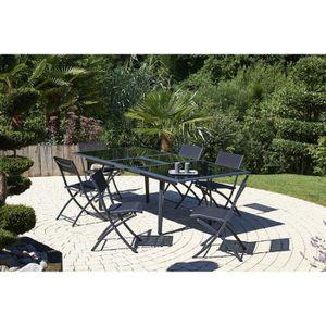 Salon de jardin aluminium 6 place(s) - Achat / Vente Salon ...