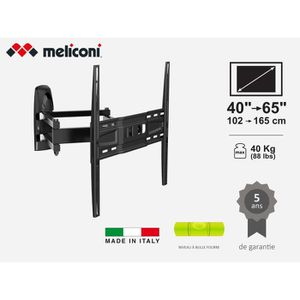 FIXATION - SUPPORT TV MELICONI MB400 PANTOGRAPH Support mural pour TV de