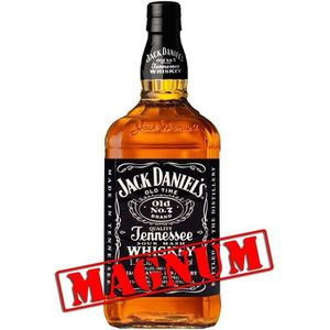 WHISKY BOURBON SCOTCH Jack Daniel's N°7  Magnum 1.5L