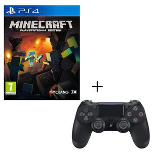 JEU PS4 Pack Minecraft Playstation 4 Edition + Manette PS4
