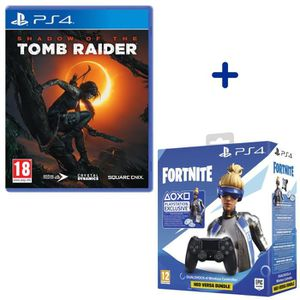 JEU PS4 Shadow Of The Tomb Raider + Manette PS4 DualShock