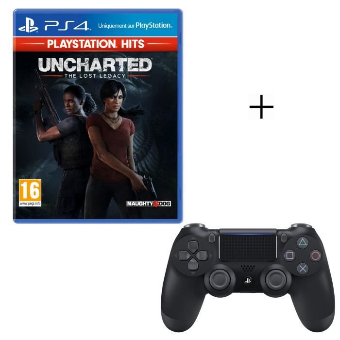 JEU PS4 Pack PlayStation : Uncharted: The Lost Legacy Play