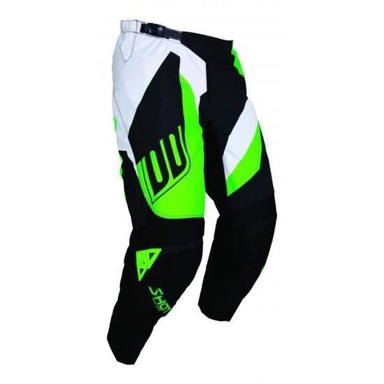 Noir N/éon Vert SHOT Pantalon Cross Devo Alert Taille 32