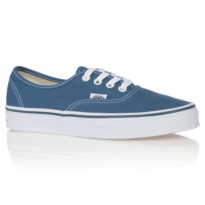 Vans authentic bleu - Cdiscount