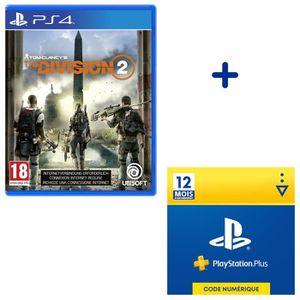 PACK ACCESSOIRE Pack PlayStation : The Division 2 + Abonnement Pla
