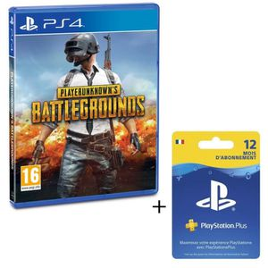 PACK ACCESSOIRE Pack PlayStation : PlayerUnknown's Battlegrounds -