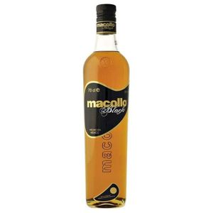 RHUM Rhum Macollo Black 38% 70 cl