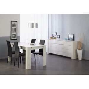 ensemble table et buffet achat vente ensemble table et buffet pas cher cdiscount. Black Bedroom Furniture Sets. Home Design Ideas